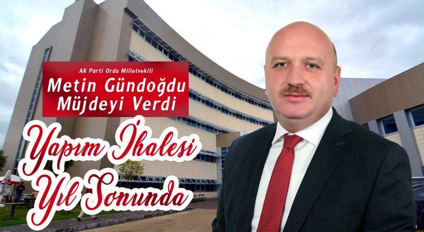Gündoğdudan Gölköy Devlet Hastanesi İçin Müjde