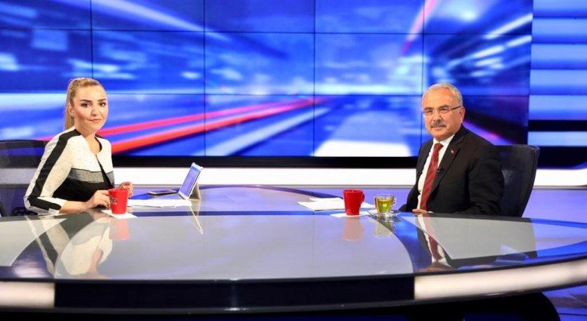 """BAŞKAN GÜLER ALTAŞ TVDE """"ORDUYU YÖNETENLER"""" PROGRAMINA KONUK OLDU"""