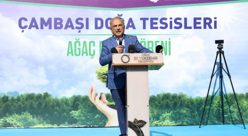 BARIŞ PINARI HAREKÂTI HATIRA ORMANI OLUŞTURULDU