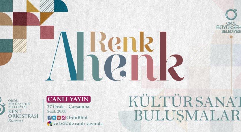 RENK AHENK - CANLI YAYIN